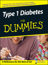 Type 1 Diabetes For Dummies (eBook)
