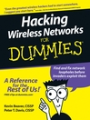 Hacking Wireless Networks For Dummies (eBook)