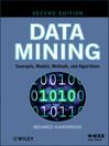 Data Mining (eBook): Concepts, Models, Methods, and Algorithms