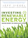 Investing in Renewable Energy (eBook): Making Money on Green Chip Stocks