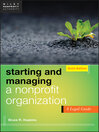 Starting and Managing a Nonprofit Organization (eBook): A Legal Guide