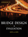 Bridge Design and Evaluation (eBook): LRFD and LRFR