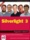 Silverlight 3 Programmer's Reference (eBook)