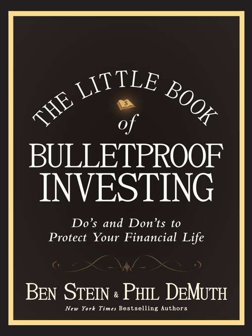 The Little Book of Bulletproof Investing (eBook): Do's and Don'ts to Protect Your Financial Life