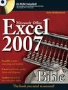 Excel 2007 Bible (eBook)
