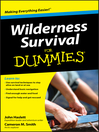 Wilderness Survival For Dummies (eBook)