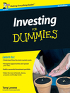 Investing for Dummies (eBook)