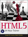 HTML5 24-Hour Trainer (eBook)