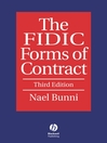 The FIDIC Forms of Contract (eBook)