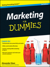 Marketing For Dummies (eBook)