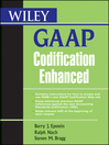 Wiley GAAP Codification Enhanced (eBook)