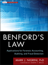 Benford's Law (eBook): Applications for Forensic Accounting, Auditing, and Fraud Detection