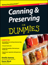 Canning and Preserving For Dummies (eBook)