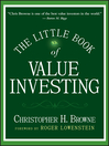 The Little Book of Value Investing (eBook)