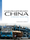 Contemporary China (eBook): A History since 1978
