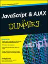 JavaScript and AJAX For Dummies (eBook)