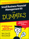 Small Business Financial Management Kit For Dummies (eBook)