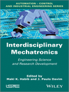Interdisciplinary Mechatronics (eBook): Engineering Science and Research Development