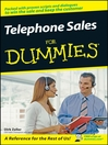 Telephone Sales For Dummies (eBook)