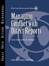 Managing Conflict with Direct Reports (eBook)