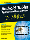 Android Tablet Application Development For Dummies (eBook)