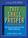 Thou Shall Prosper (eBook): Ten Commandments for Making Money