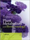 Plant Metabolism and Biotechnology (eBook)