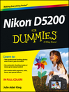 Nikon D5200 For Dummies (eBook)