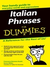 Italian Phrases For Dummies (eBook)