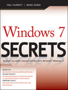 Windows 7 Secrets (eBook)