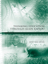 Thinking Education Through Alain Badiou (eBook)