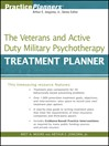 The Veterans and Active Duty Military Psychotherapy Treatment Planner (eBook)