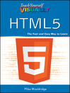 Teach Yourself VISUALLY HTML5 (eBook)
