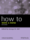 How to Write a Paper (eBook)