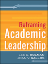 Reframing Academic Leadership (eBook)