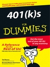 401(k)s For Dummies (eBook)
