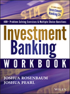 Investment Banking Workbook (eBook)