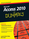 Access 2010 For Dummies (eBook)