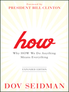 How (eBook): Why How We Do Anything Means Everything