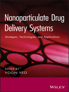 Nanoparticulate Drug Delivery Systems (eBook): Strategies, Technologies, and Applications