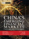 China's Emerging Financial Markets (eBook): Challenges and Global Impact