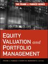 Equity Valuation and Portfolio Management (eBook)
