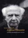 Conversations with Zygmunt Bauman (eBook)