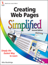 Creating Web Pages Simplified (eBook)