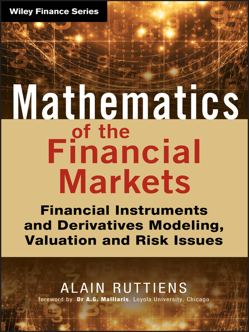 Mathematics of the Financial Markets (eBook): Financial Instruments and Derivatives Modelling, Valuation and Risk Issues