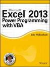 Excel 2013 Power Programming with VBA (eBook)