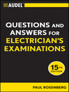 Audel Questions and Answers for Electrician's Examinations (eBook)