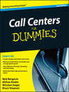 Call Centers For Dummies (eBook)