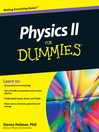 Physics II For Dummies (eBook)