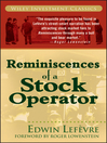 Reminiscences of a Stock Operator (eBook)